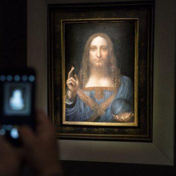 تابلوی نقاشی لئوناردو داوینچی فروش تابلو نقاشی لئونارد داوینچی به قیمت 450 میلیون دلار در آمریکا فروش تابلو نقاشی لئونارد داوینچی به قیمت 450 میلیون دلار در آمریکا                                                         350x350