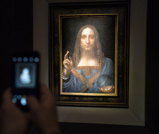 تابلوی نقاشی لئوناردو داوینچی