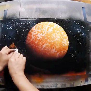 خلق یک نقاشی زیبا، جذاب و مدرن خلق یک نقاشی زیبا، جذاب و مدرن                           350x350