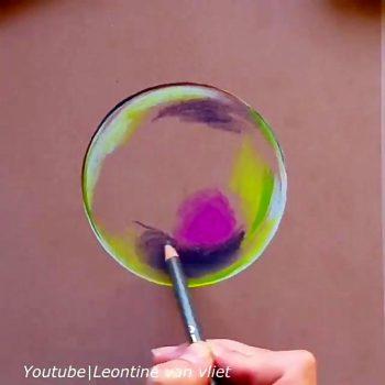 طراحی نقاشی سه بعدی بصورت حباب طراحی نقاشی سه بعدی بصورت حباب                          350x350