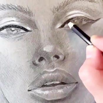 نقاشی چهره مدرن نقاشی چهره مدرن                     350x350