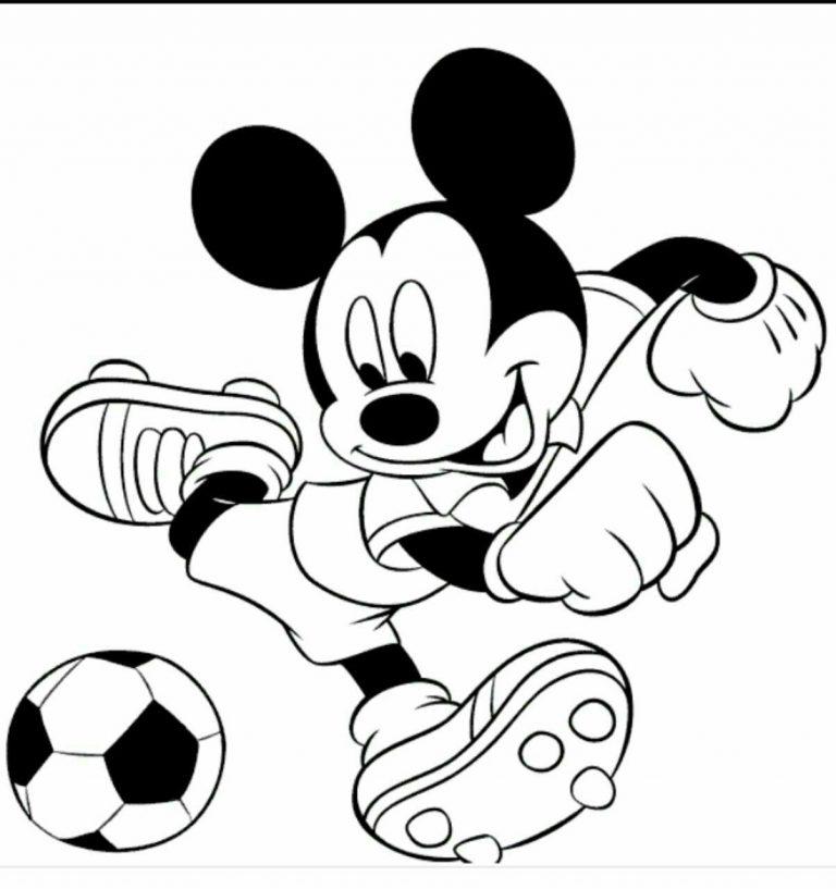 طرح های خام کارتونی نقاشی میکی موس طرح های خام کارتونی نقاشی میکی موس                                                                768x817