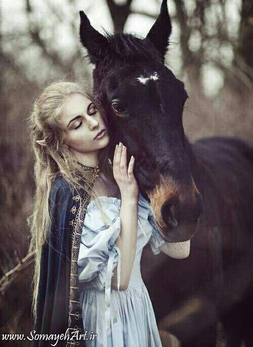 مدل نقاشی زن به همراه اسب مدل نقاشی زن به همراه اسب                                               3