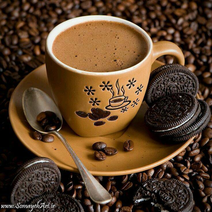 مدل نقاشی فنجان قهوه