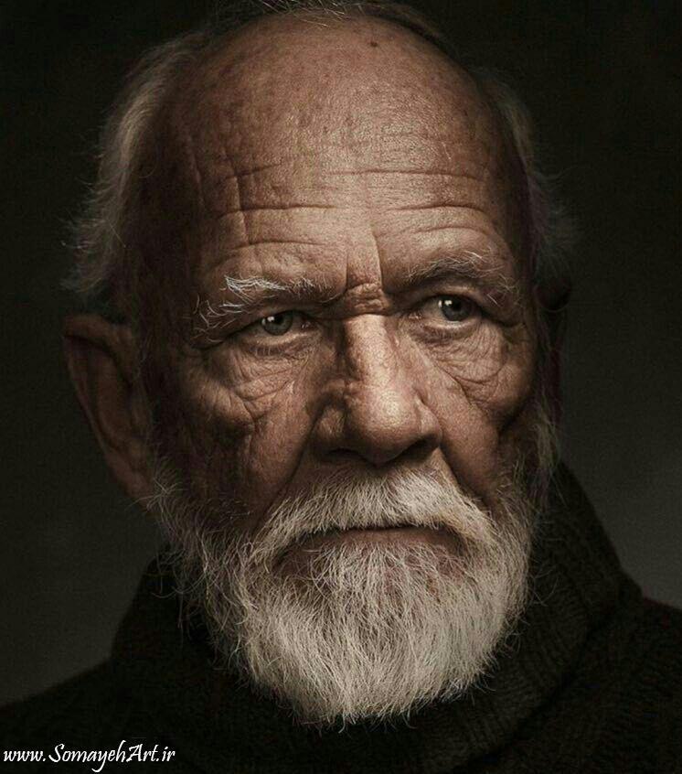 مدل نقاشی پیرمرد مدل نقاشی پیرمرد