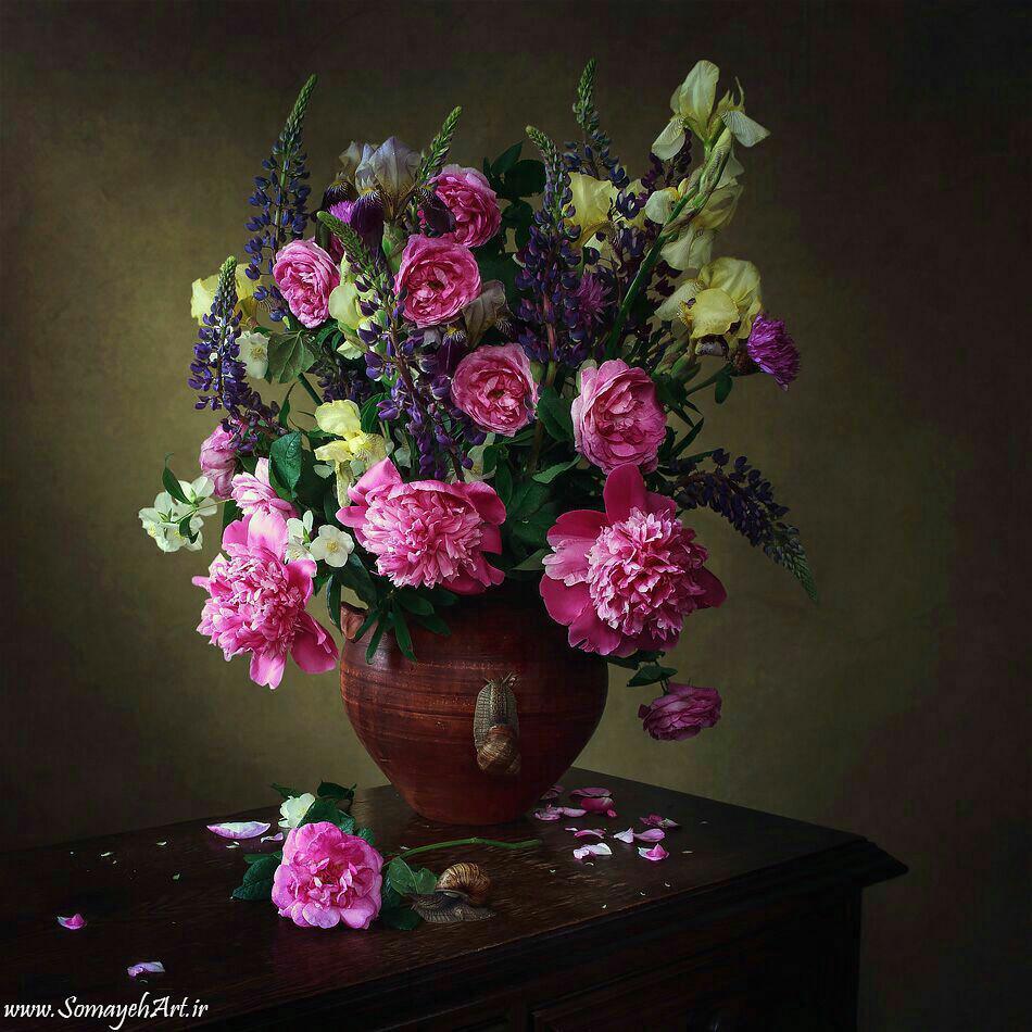 مدل نقاشی گل