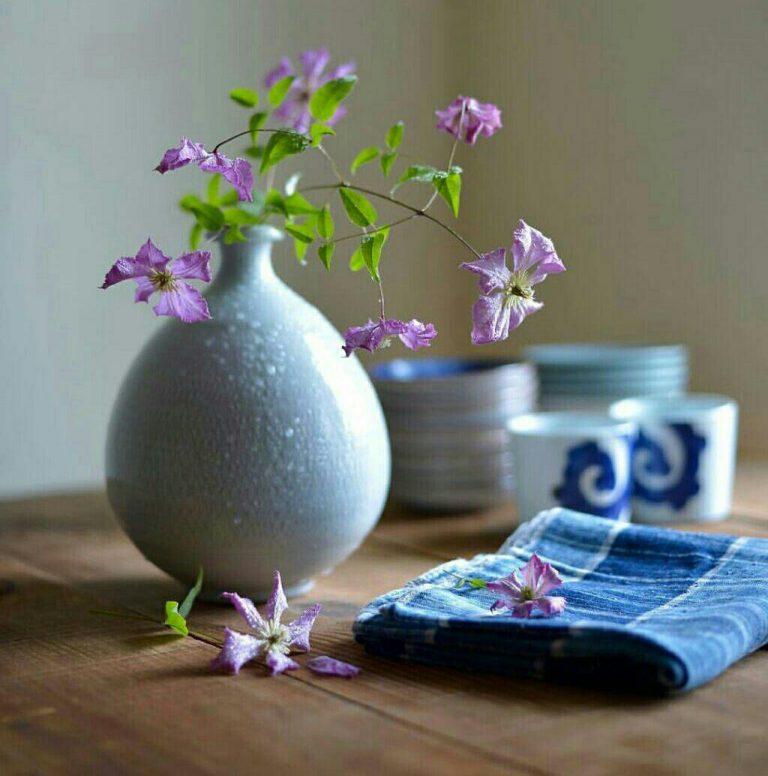 مدل نقاشی گل و گلدان گل مدل نقاشی گل و گلدان گل                                      5 768x776