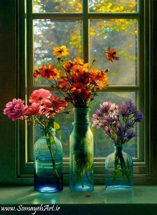 مدل نقاشی گل و گلدان گل مدل نقاشی گل و گلدان گل photo 2018 06 04 03 13 05
