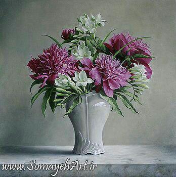 مدل نقاشی گل و گلدان گل مدل نقاشی گل و گلدان گل photo 2018 06 04 03 13 59