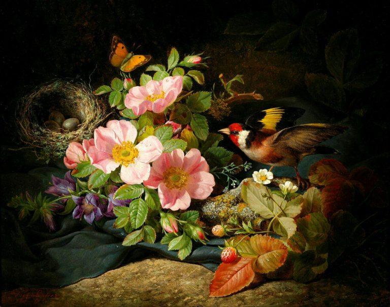 مدل نقاشی گل و گلدان گل مدل نقاشی گل و گلدان گل photo 2018 06 04 03 14 34 768x605