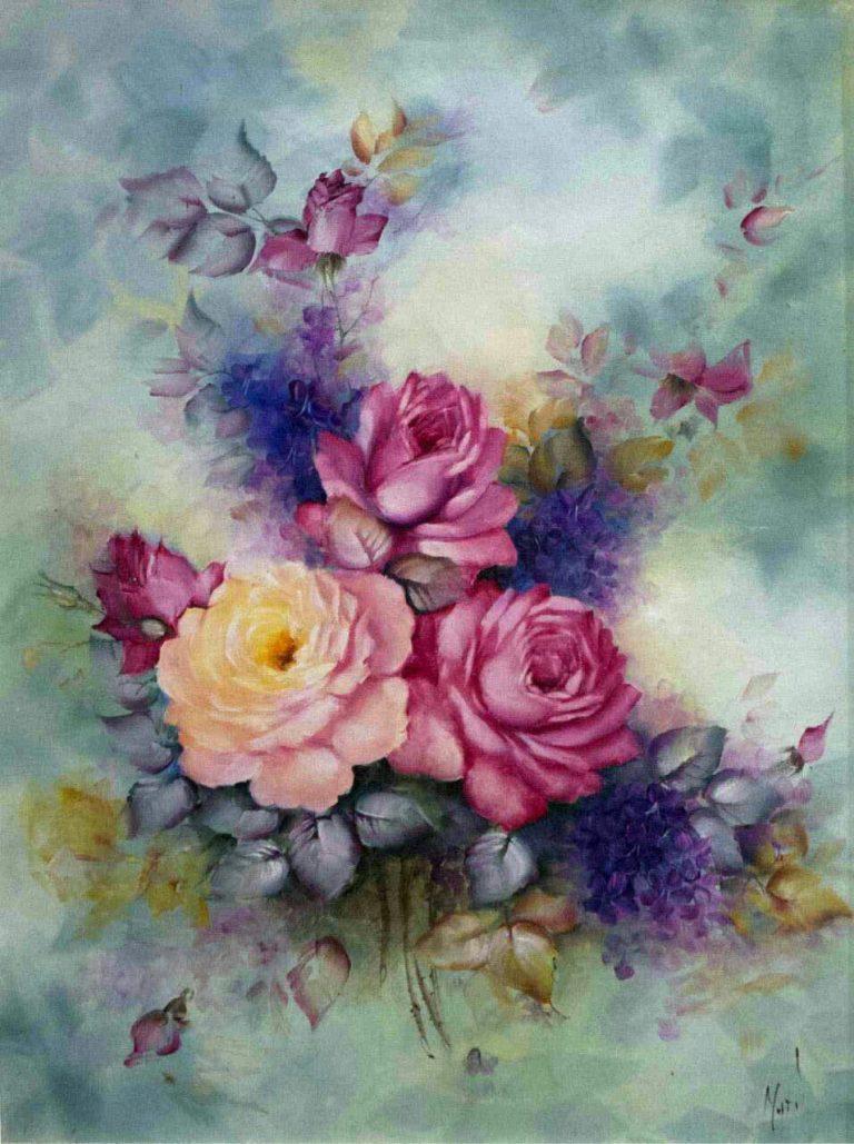 مدل نقاشی گل و گلدان گل مدل نقاشی گل و گلدان گل photo 2018 06 04 03 14 40 768x1029