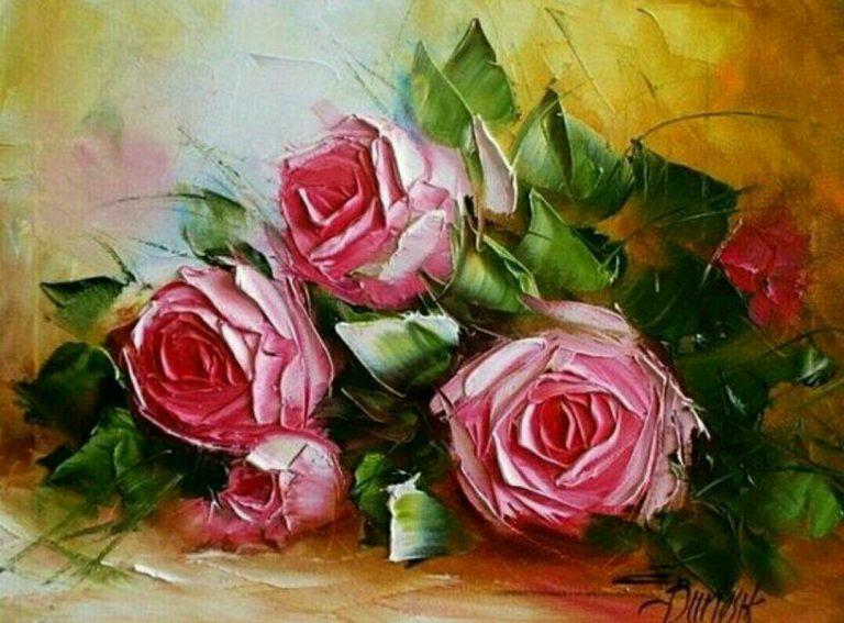 مدل نقاشی گل و گلدان گل مدل نقاشی گل و گلدان گل photo 2018 06 04 03 14 55 768x567