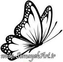 طرح پروانه برای نقاشی طرح پروانه برای نقاشی photo 2018 06 11 00 57 37