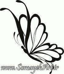 طرح پروانه برای نقاشی طرح پروانه برای نقاشی photo 2018 06 11 00 57 38