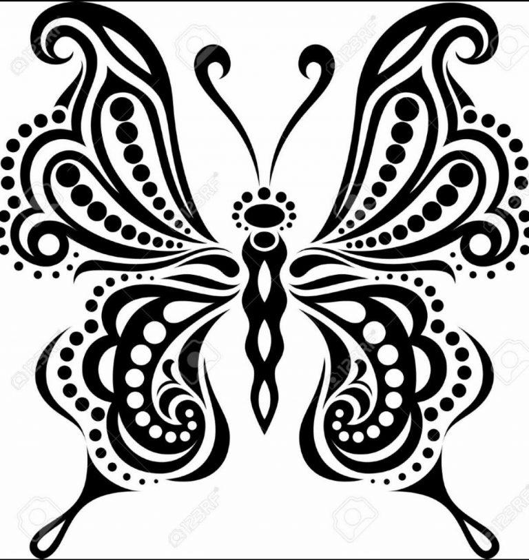 طرح پروانه برای نقاشی طرح پروانه برای نقاشی photo 2018 06 11 00 57 56 768x813