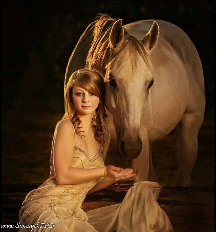 مدل نقاشی زن به همراه اسب مدل نقاشی زن به همراه اسب photo 2018 06 24 09 01 47