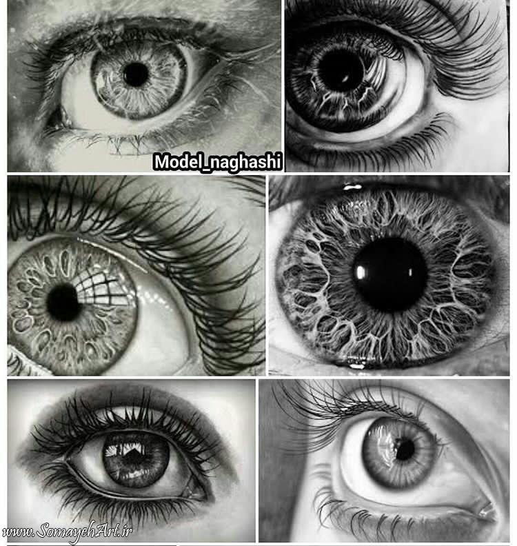 مدل نقاشی چشم مناسب برای نقاشی سیاه قلم مدل نقاشی چشم مناسب برای نقاشی سیاه قلم                                          2