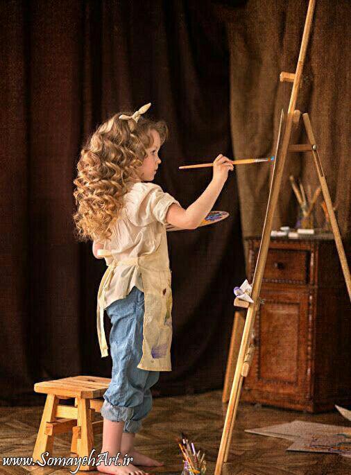 مدل نقاشی کودکانه