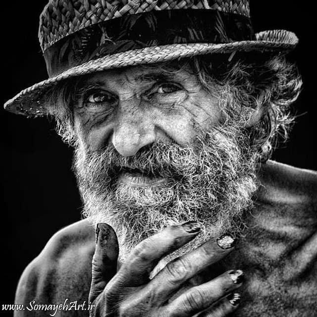 مدل نقاشی چهره پیرمرد سیاه قلم مدل نقاشی چهره پیرمرد سیاه قلم photo 2018 07 06 22 07 22