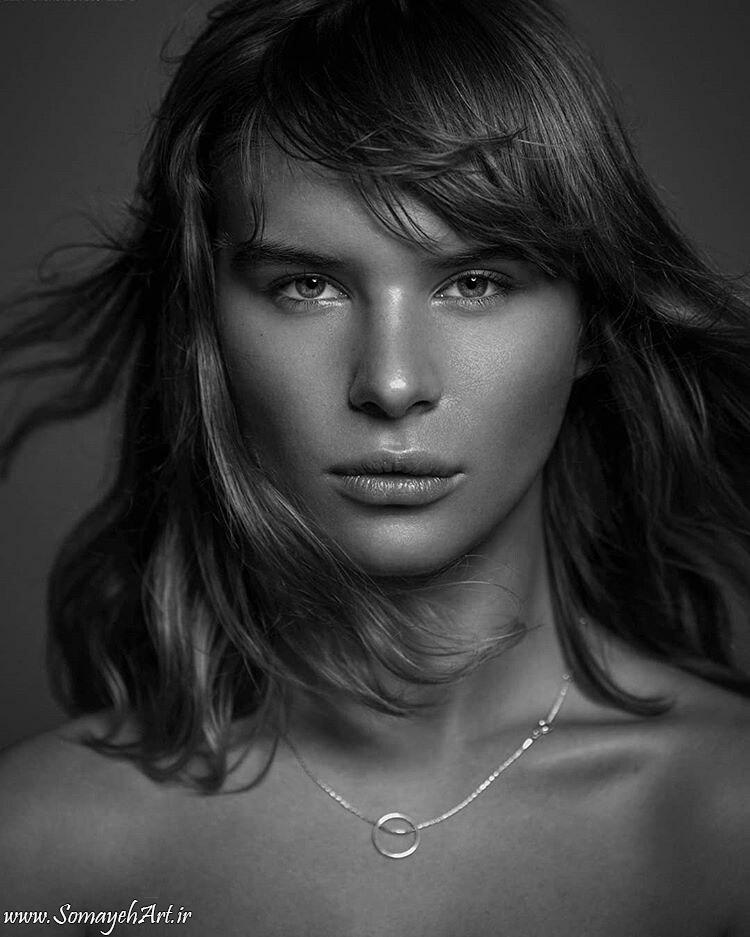 مدل نقاشی چهره زن سیاه قلم – پارت 2 photo 2018 09 16 22 07 02 2