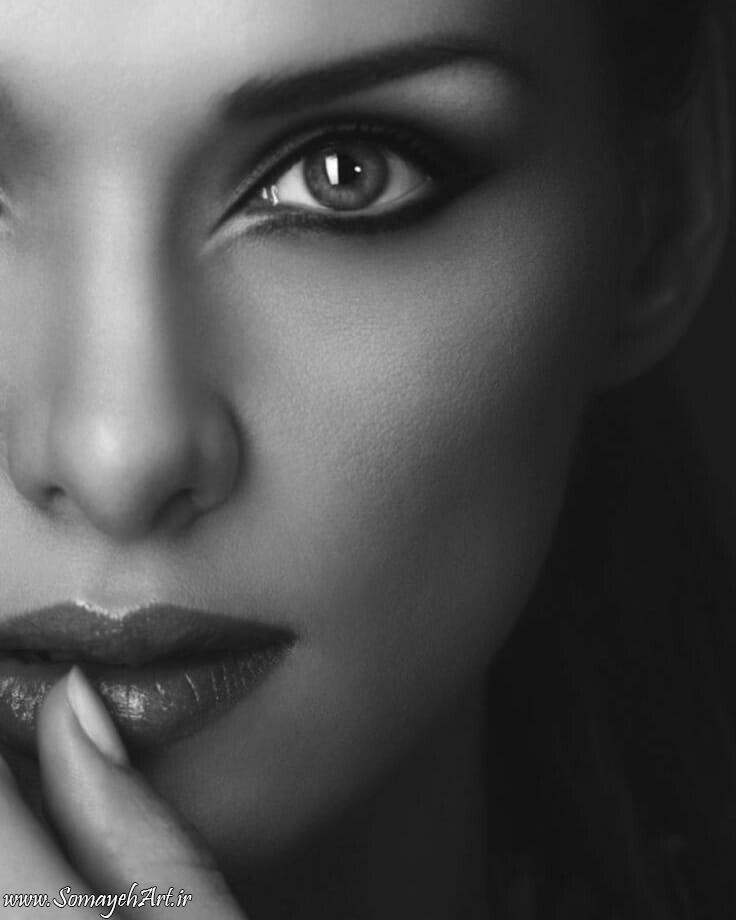 مدل نقاشی چهره زن سیاه قلم – پارت 2 photo 2018 09 16 22 07 02