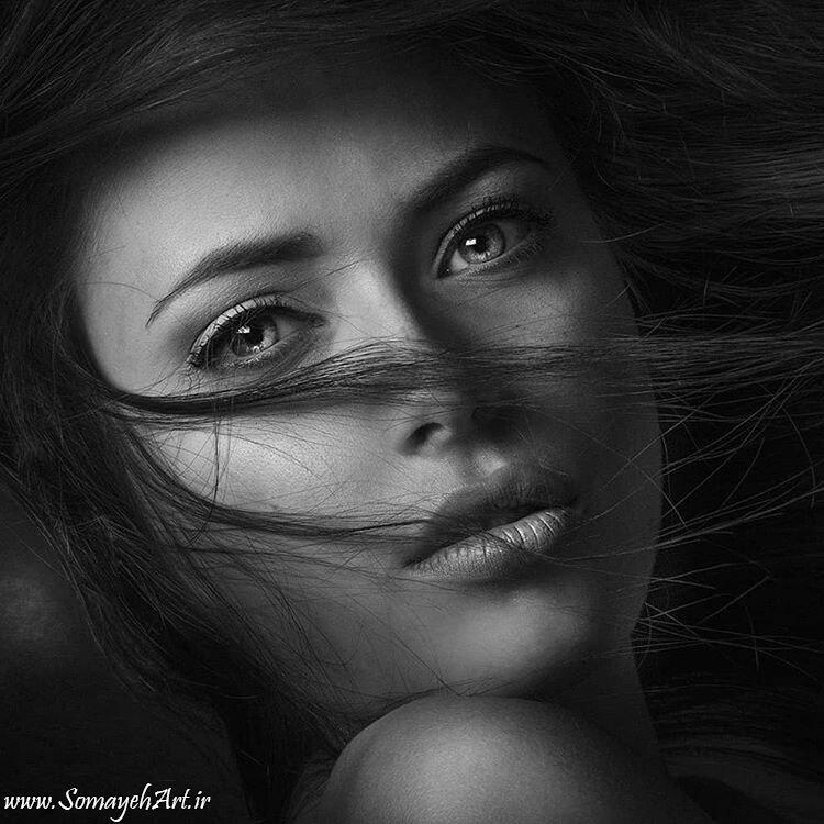 مدل نقاشی چهره زن سیاه قلم – پارت 2 photo 2018 09 16 22 07 08 2
