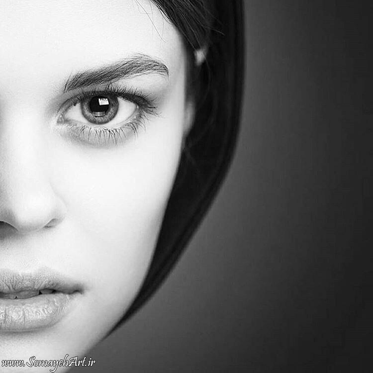 مدل نقاشی چهره زن سیاه قلم – پارت 2 photo 2018 09 16 22 07 09 2