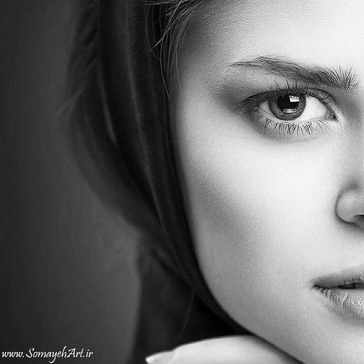 مدل نقاشی چهره زن سیاه قلم – پارت 2 photo 2018 09 16 22 07 09
