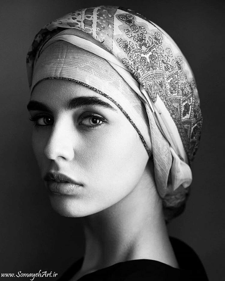 مدل نقاشی چهره زن سیاه قلم – پارت 2 photo 2018 09 16 22 07 11 2