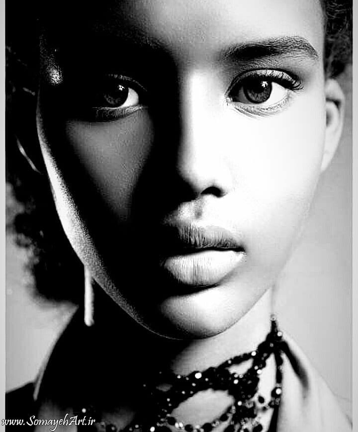 مدل نقاشی چهره زن سیاه قلم – پارت 2 photo 2018 09 16 22 07 14