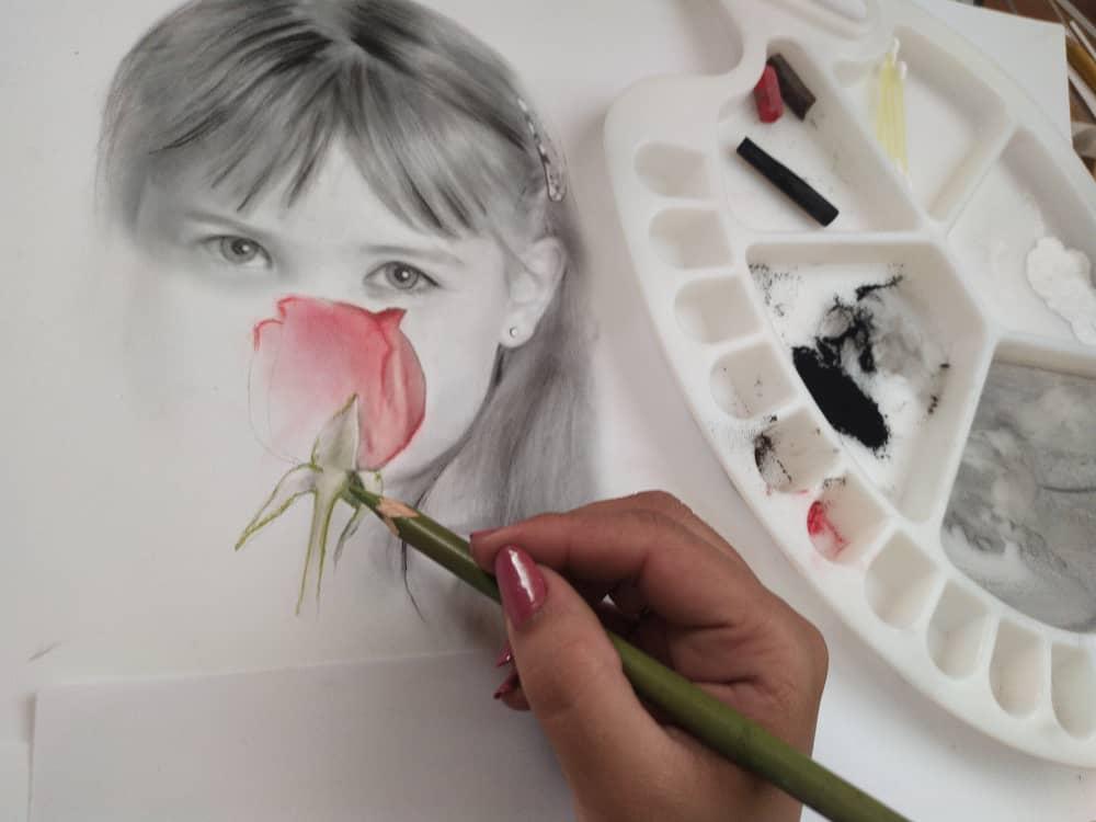 مدل نقاشی کودک  اجرای نقاشی مدل کودک